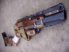 Steampunk Gun Nerf Sledgefire Victorian Gothic Cosplay Painted Prop
