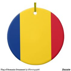 Flag of Romania Ornament