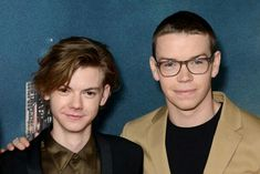 Thomas Sangster and Will Poulter
