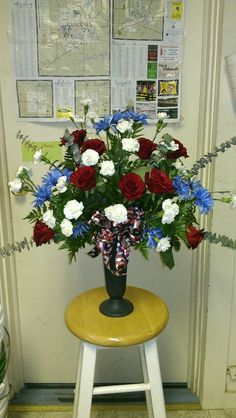 Veterans day arrangement