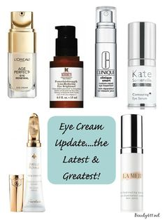 Looking for a new eye cream? Learn more about these 6 eye treatments!
