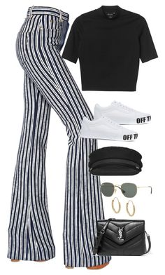 """Sem título #1599"" by oh-its-anna ❤ liked on Polyvore featuring Sonia Rykiel, Monki, Vans, Yves Saint Laurent, Ray-Ban and Mondevio"