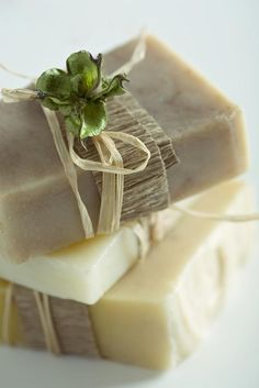 Home made soap - such a cute gift idea for family at Christmas