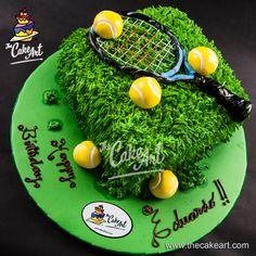 Pastel para tenistas | thecakeart.com