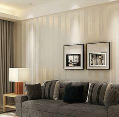 Loopsd Moderne Minimalistische Mode Vliestapete, Schlafzimmer Wohnzimmer TV  Wand Hauptdekor Hintergrundbild, 10 M * 0,53 M | Ideen Für Wohnzimmer ...