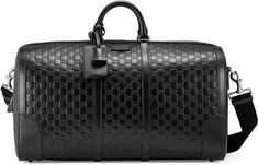 Gucci Signature leather duffle  #AD :  http://shopstyle.it/l/zF5m