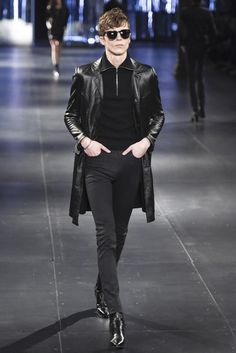 Saint Laurent Men's RTW Fall 2015 | WWD
