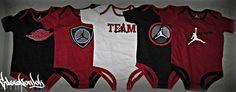 jordan baby clothing :)