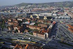 Vizcaya Bilbao - Vista aérea del hospital de Basurto