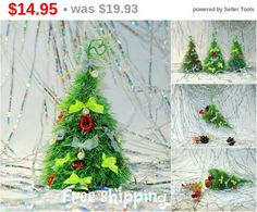 Free shipping Christmas decoration Christmas stocking Christmas fir tree Holiday ornament Cute office, home, cubicle decor Fireplace mant...