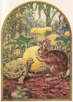 Le lièvre et la tortue, Jean De La Fontaine Fables