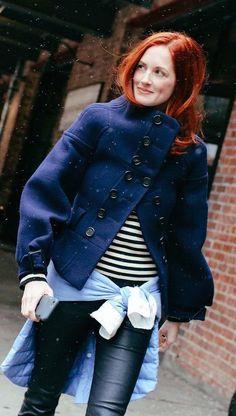 come abbino il blu con il nero ed ecopelle The best street style looks from NYFW