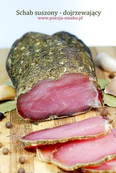 Schab suszony / Dried Pork Loin (recipe in Polish)