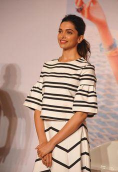celebstills: Deepika Padukone Launches Vogue Capsule Collection Photos