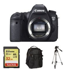 Canon Eos 6D (Body Only) + Free Accessories, 2015 Amazon Top Rated Digital Cameras #Photography