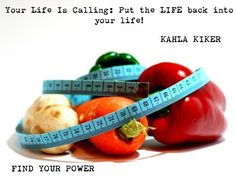 """Your Life Is Calling: Put the LIFE back into your life! #SelfHelpBook FIND YOUR POWER """"Of course, it is easy to forget the long term benefits of healthy eating when you have a doughnut staring you in the face. That pleasure surge you get from increased serotonin (the sugar rush) can feel awfully good, but makes us feel awful afterwards. Regardless, beating ourselves up about the number we see on the scale is counterproductive."""""""