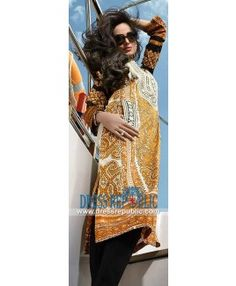 Latest Pakistani Lawn Collection 2015 By Designer HSY