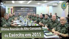 Última Reunião do Alto-Comando do Exército (RACE) em 2015