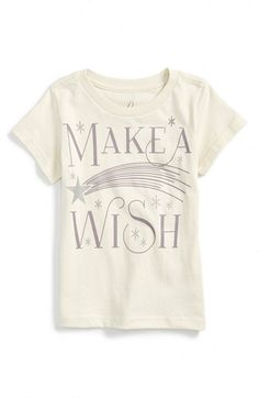 Peek+'Make+a+Wish'+Tee+(Baby+Girls)+available+at+#Nordstrom