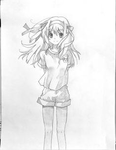 Haruhi Suzumiya no yuutsu - Haruhi Suzumiya