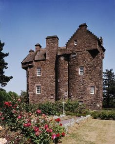 Claypotts Castle, Perthshire, Kinross & Angus