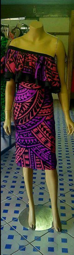 Samoa Island Wear, Island Outfit, Fashion Show, Women's Fashion, Fashion Design, Samoan Dress, Island Clothing, Island Girl, Dresses Dresses