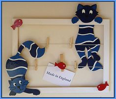 Pêle Mêle Pele Mele Photo, Archive, How To Make, Monsters, Wall Lamp Shades, Cadre Photo, Picture Frame, Cloud, Frames