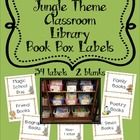 This is a set of 34 classroom library book box labels-by genre and by series.  I have included two blank labels to incorporate other book categorie...