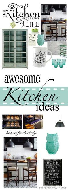 My Ideal Kitchen Decorating Ideas - #bh #refreshrestyle www.segwaysami.com | @iSami Siddiqui | Sacramento Real Estate