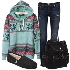 Casual Winter Prints by StyleZen! Click and buy your favorite pieces from this collection to the right!