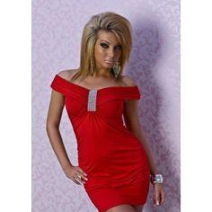 Kırmızı Mini Elbise