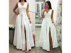 Smotanové spoločenské šaty so saténovou sukňou - Mia Dresses Prom Dresses, Formal Dresses, Fashion, Dresses For Formal, Moda, Formal Gowns, Fashion Styles, Formal Dress, Gowns