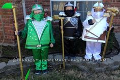 Awesome Lego Ninjago Minifigure Costumes...