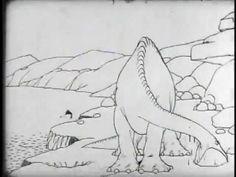 Gertie the dinosaur. La primera animación fluida de la época.
