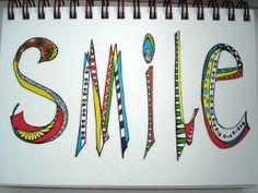 Lesson 10 Delightfully Doodled Smile by A20man, via Flickr