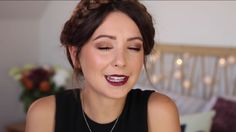 Again zoella is perfection! Love this gold look. Doubt I could do the hair though.