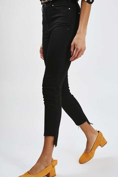 Stepped Hem Jean By Boutique