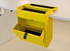 Persoonlijke lade box, voor onder bureau design lade box