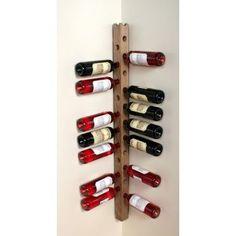 Wine Staff - Vinhaven - Wine Storage More - Houses interior designs Wood Wine Racks, Wine Rack Wall, Corner Wine Rack, Bottle Rack, Wine Bottle Holders, Wine Bottles, Do It Yourself Einrichtung, Wine Storage Cabinets, Wood Storage