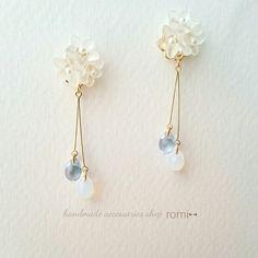 Handmade Wire Jewelry, Handmade Accessories, Resin Jewelry, Earrings Handmade, Jewelry Accessories, Magical Jewelry, Cute Jewelry, Beautiful Earrings, Beaded Earrings