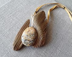 Your place to buy and sell all things handmade Unique Necklaces, Handmade Necklaces, Unique Jewelry, Driftwood Jewelry, Baltic Sea, Necklace Sizes, Leather Jewelry, Jewelry Crafts, Crafts