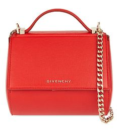 GIVENCHY - Pandora mini leather shoulder bag | Selfridges.com