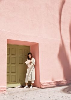 The perfect pastel pink and green combo. Perfect Pink, Pretty In Pink, Pastel Pink, Blush Pink, Millenial Pink, Tout Rose, Pink Walls, Girly, Color Rosa