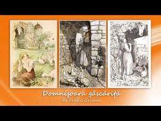 Fratii Grimm, Domnisoara gascarita, lectura Maia Martin video