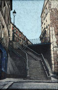 STUART WALTON (b.1933), Leeds Street Scene, oil on board