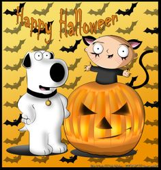 INFO Brian and Stewie would like to wish everyone a happy and safe Halloween. A gift for everyone from Brian and Stewie.