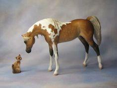 Painter Linda R. Elkjer - model  Horse