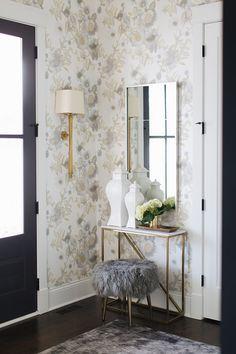 56 best foyer wallpaper images diy ideas for home wall colors rh pinterest com