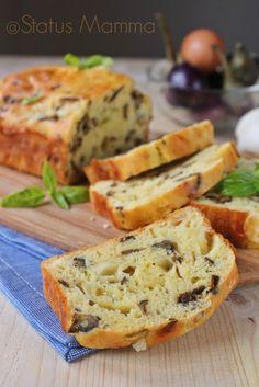 PLUMCAKE DI MELANZANE E FONTINA, facile e gustoso! http://blog.giallozafferano.it/statusmamma/plumcake-melanzane-fontina-gustoso/ @Statusmamma