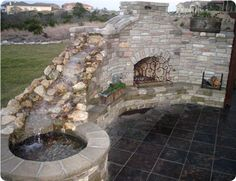 22 Best Fire Pits Waterfall Ideas